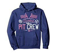 Racing Car Sister Racer Sister Pit Crew Gift Shirts Hoodie Navy