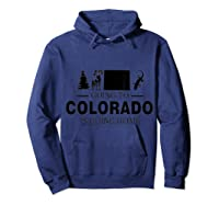 Colorado Is Going Home T-shirt Hoodie Navy