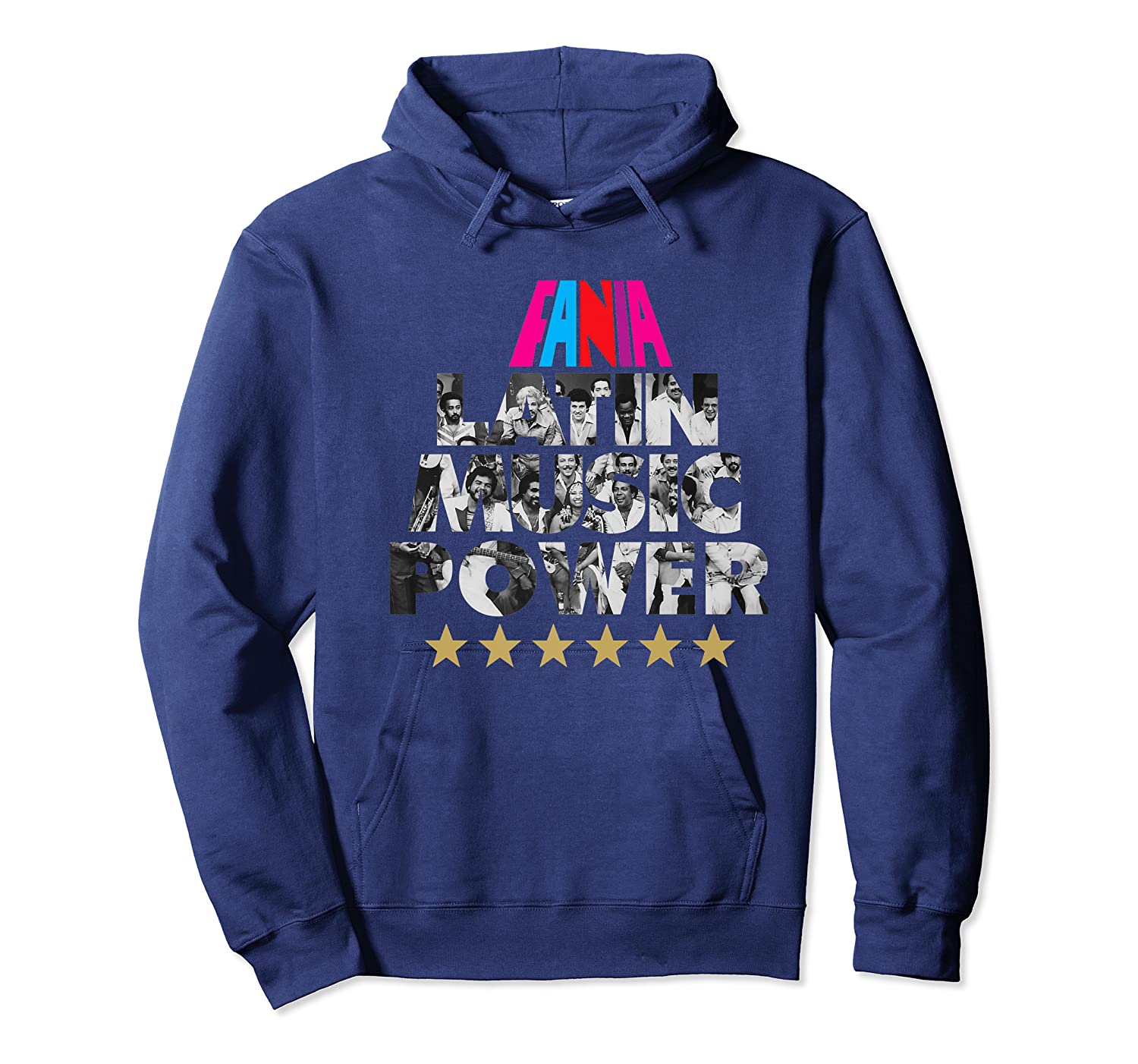 Fania All Star Latin Power Shirts Unisex Pullover Hoodie