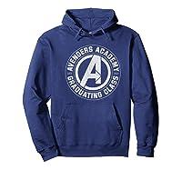 Marvel Avengers Academy Graduating Class Of 2019 Premium T-shirt Hoodie Navy