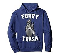 Furry Trash Bandit Raccoon Fandom Furries Tail T Shirt Gifts Hoodie Navy