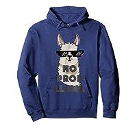 No Prob No Drama Mama Alpaca Corn Shirts Hoodie Navy