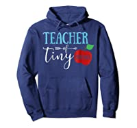Tea Of Tiny Humans Best Tea Gift Shirts Hoodie Navy