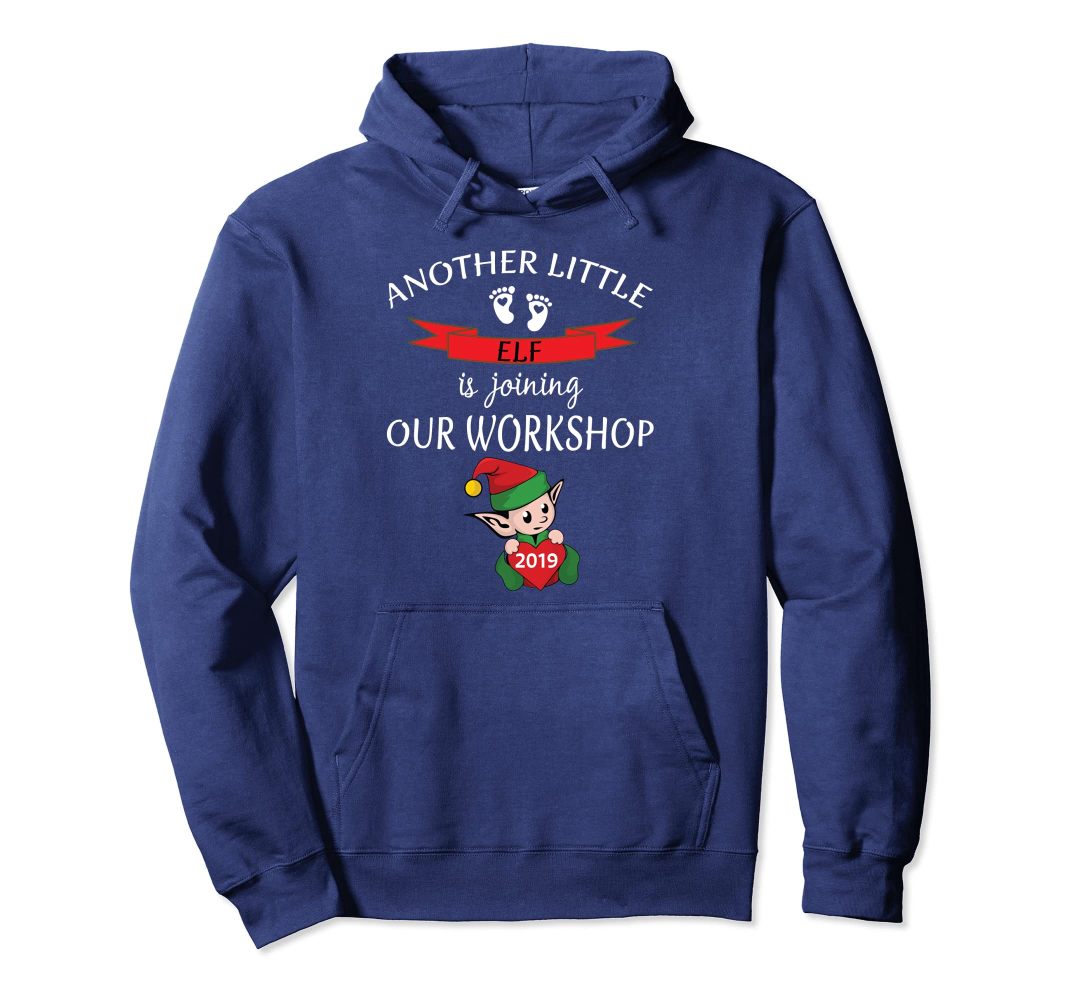 2019 Christmas Pregnancy Announcment Hoodie Another Baby Fun-SFL