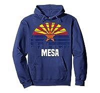 Mesa Arizona T Shirt Az Group City Silhouette Flag Tee Gift Hoodie Navy