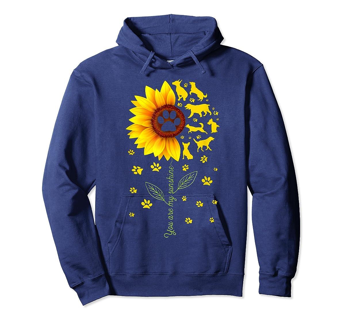 You are my Sunshine t-shirt-Hoodie-Navy