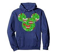 Disney Mickey Christmas Ornats T Shirt Hoodie Navy