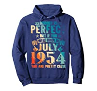 Made In July 1954 Of Being Awesome Gifts For Family Shirts Hoodie Navy