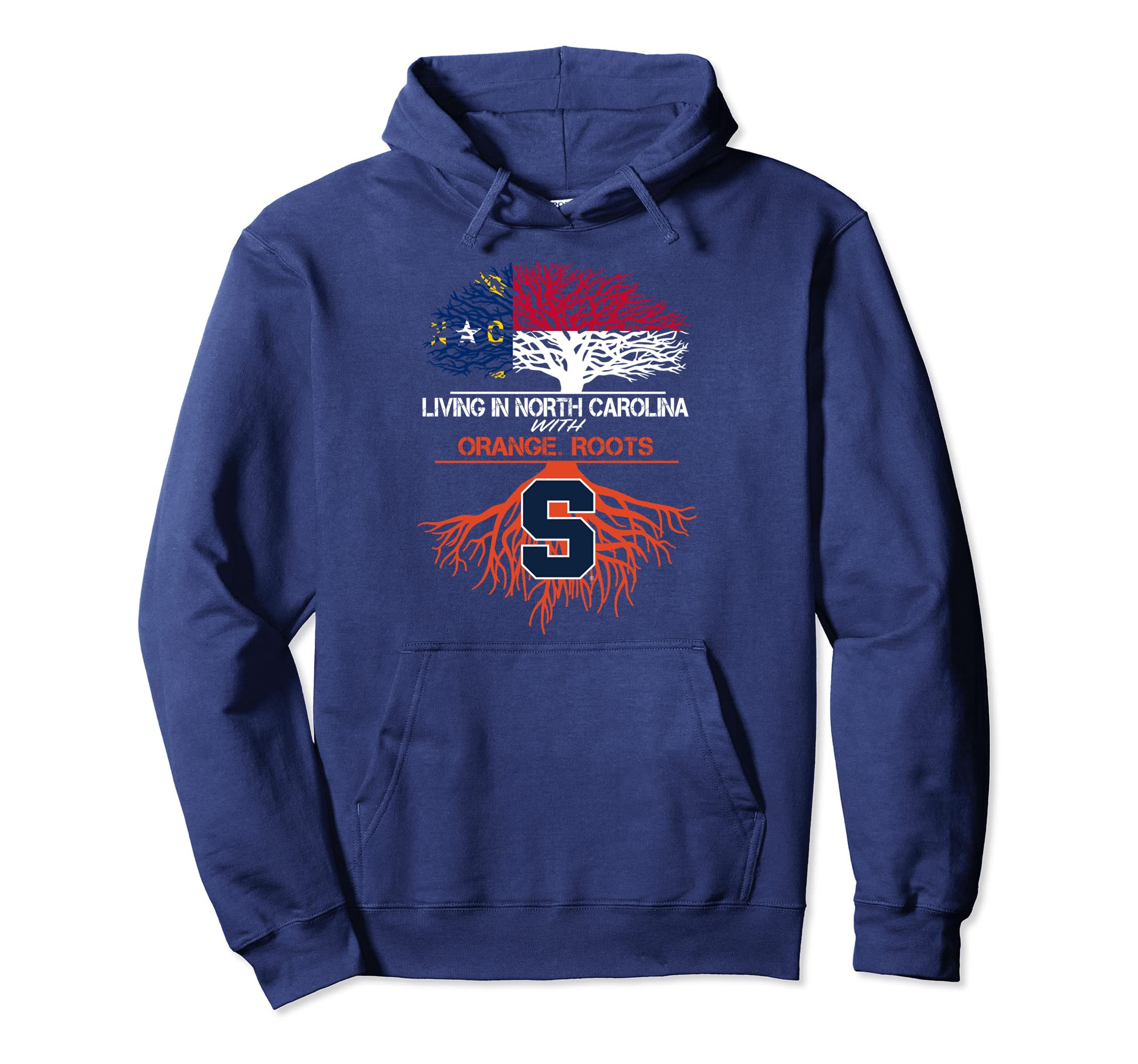 Syracuse Orange Living Roots Hoodie - Apparel-SFL