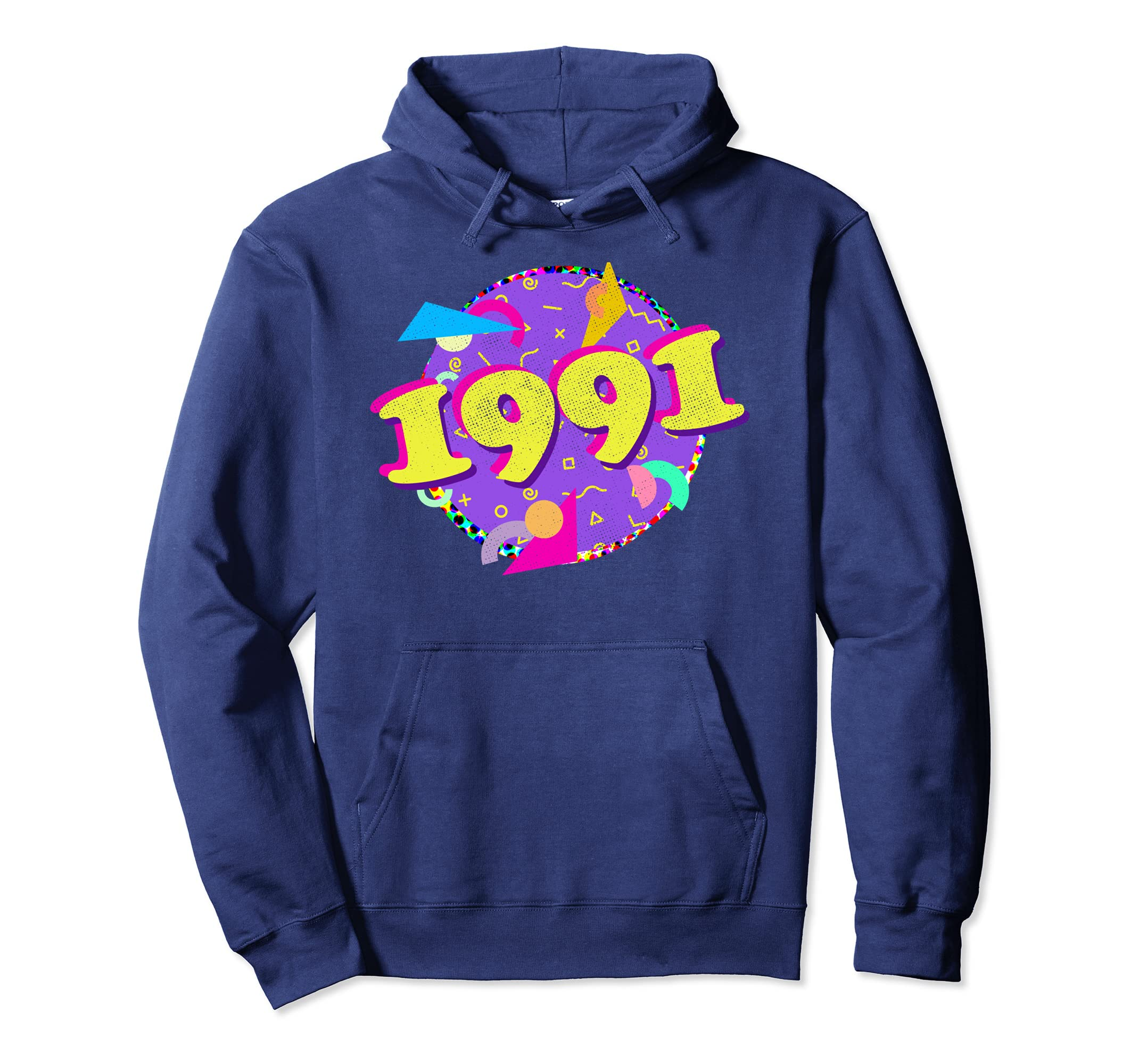 1991 Hoodie 27th Birthday Shirt Retro 90s Style