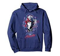 Suicide Squad Harley Quinn Bad Girl Shirts Hoodie Navy