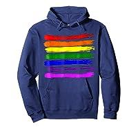 Barcode Gay Pride Lgbt Lesbian Bisexual Flag Gifts Shirts Hoodie Navy