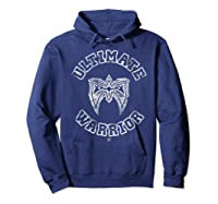 Ultimate Warrior Mask 1 Color Shirts Hoodie Navy