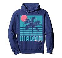 Hialeah Florida T Shirt Vintage Souvenirs Hoodie Navy