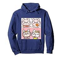 Super Cute Silly Rabbit Love Story Unisex Humor T Shirt Hoodie Navy