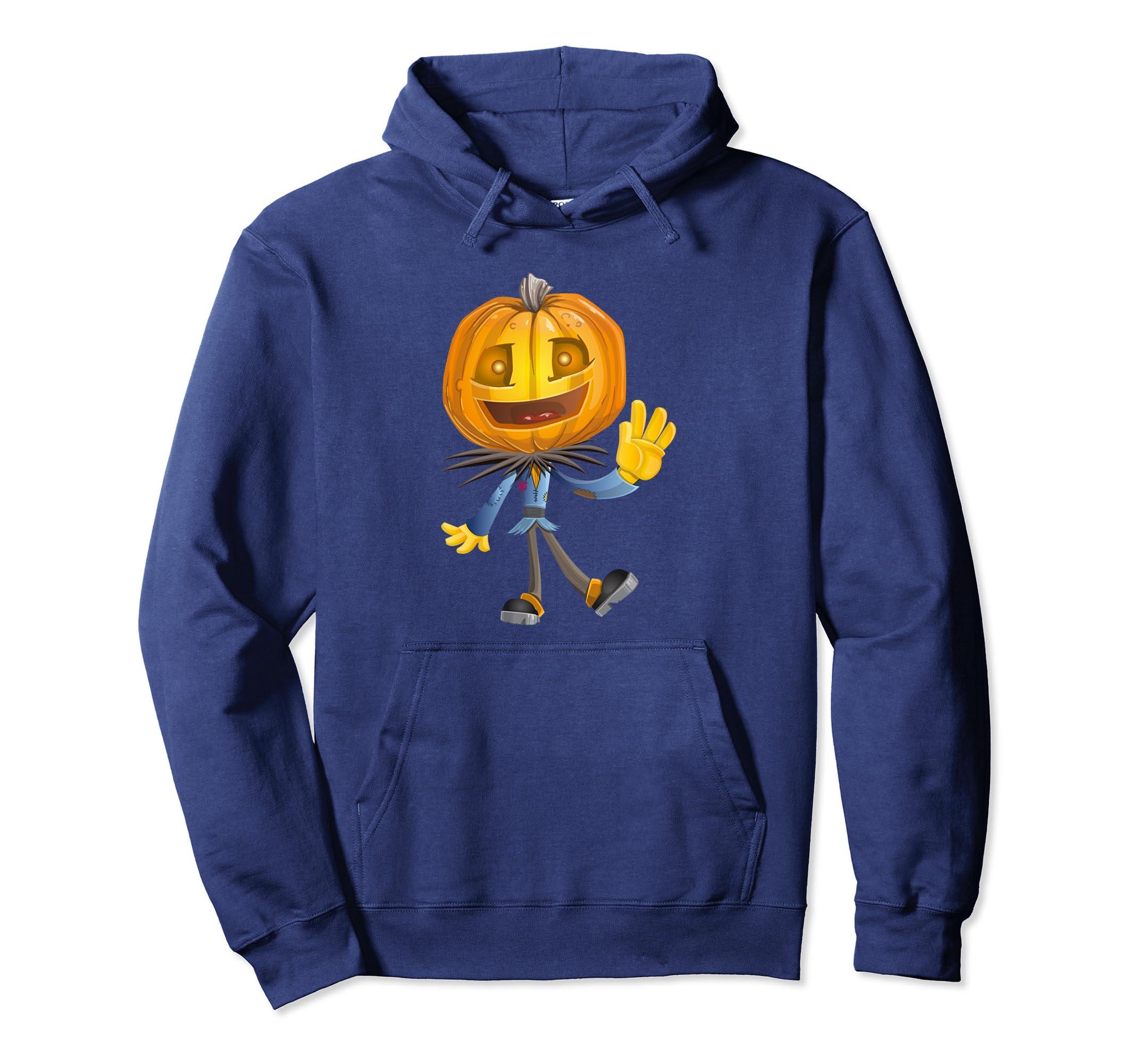 Hellow JAck O Lantern Scarecrow Hoody Hoodies