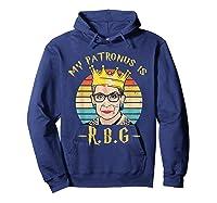My Patronus Is Ruth Bader Ginsburg Shirt Notorious Rbg Gift Hoodie Navy