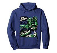Vintage Halloween Killer Monster Horror Gift Shirts Hoodie Navy