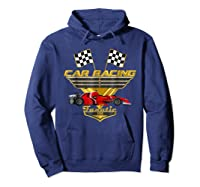 Car Racing Fanatic 500 Miles T Shirt Red Car Edition Hoodie Navy