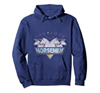 The Four Horse The Original Group T- Shirts Hoodie Navy