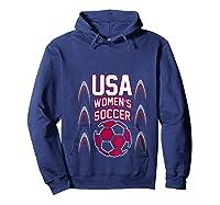 2019 Soccer Usa Team France Cup Tournat Shirts Hoodie Navy