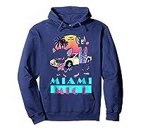 Miami Mice Shirts Hoodie Navy