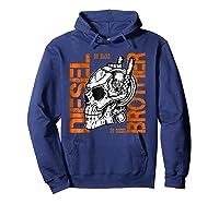 Diesel Power Truck Turbo Brothers Mechanic Shirts Hoodie Navy