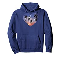 Cali Girl, Cute California Love Shirt, Love For Ca Raglan Baseball Tee Hoodie Navy