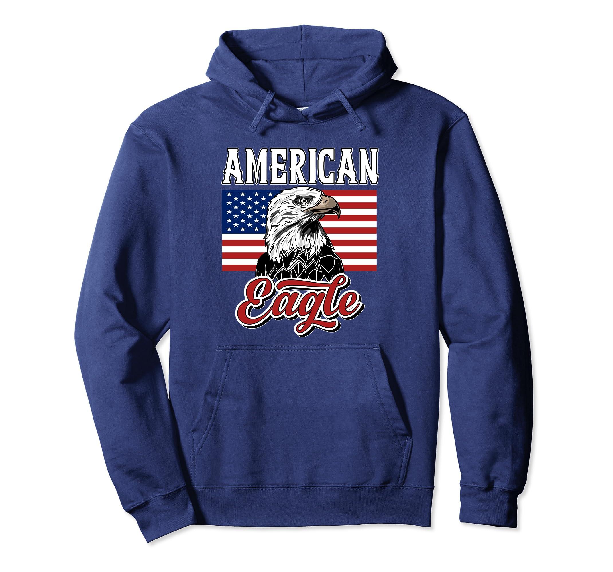 Amazon.com American Eagle Hoodie Men Women Patriotic Gifts