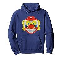 Scary Clown T-shirt Hoodie Navy