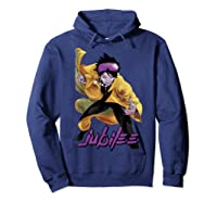 X Jubilee Modernized Classic Look Graphic Shirts Hoodie Navy