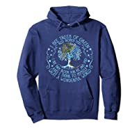 And I Think To Myself What A Wonderful World Shirts Hoodie Navy