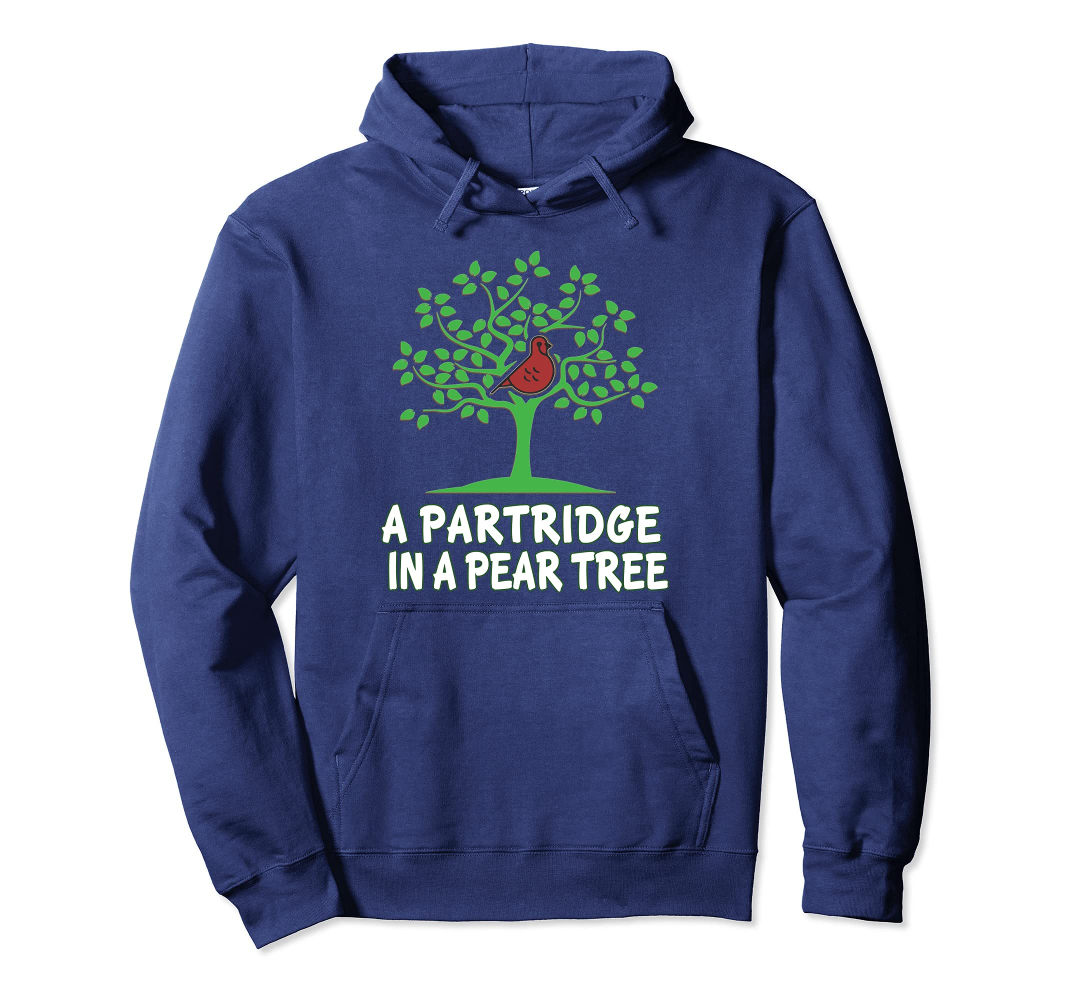 A Partridge in Pear Tree 12 Days Christmas Hoodie Song