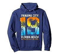 Pa City Beach 2018 Florida T Shirt Beach Lovers Gift Hoodie Navy
