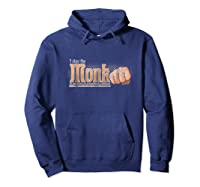 Play The Monk Dnd Dragons Roleplay Shirts Hoodie Navy