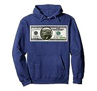Trump Dollar Bill T-shirt Hoodie Navy