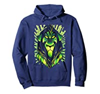 Lion King Evil Scar Graphic Shirts Hoodie Navy
