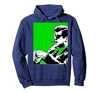 John F Kennedy 35th President - Jfk Smoking Cigar Blunt Premium T-shirt Hoodie Navy