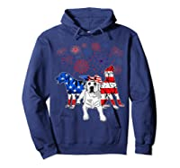 Labrador 4th Of July America Flag Gifts Shirts Hoodie Navy