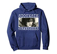 Siouxsie And The Banshee Siouxsie Sioux T Shirt Hoodie Navy