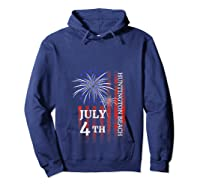Huntington Beach 4th Of July 2019 Independence Day Shirts Hoodie Navy