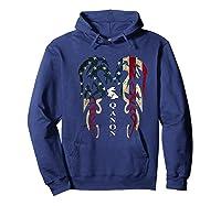 Qanon Rabbit Flag T Shirt Hoodie Navy