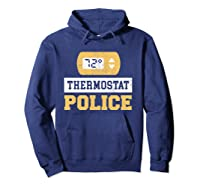Thermostat Police T-shirt Hoodie Navy