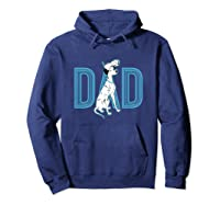 101 Dalmatians Pongo And Penny Dad Shirts Hoodie Navy