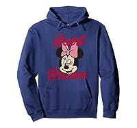 Disney Minnie Heartbreaker T Shirt Hoodie Navy