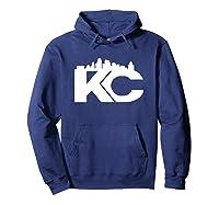 , K C Proud Shirts Hoodie Navy