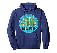 Cafe Martin T-shirt V1.4 Hoodie Navy
