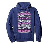 M Gift Bringing Story Reading Meme Mom Grandma Shirts Hoodie Navy