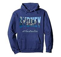 Sydney Australia Shirt Hoodie Navy