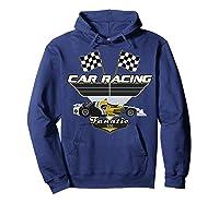 Car Racing Fanatic 500 Miles T Shirt Car Lover Gift Hoodie Navy